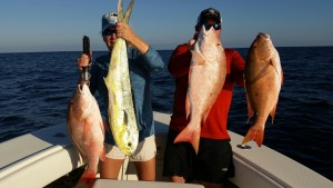 Big fish caught with Rigged & Ready Charters off Sunset Beach, NC