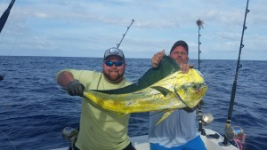 Myrtle Beach huge Dolphin catch offshore deep seafishing with Capt. Kevin Sneed.