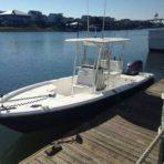 24ft Sea Hunt Bay Boat