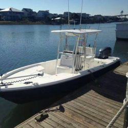 24ft Sea Hunt Bay Boat