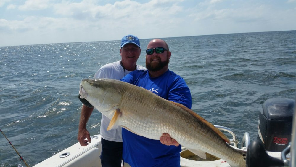 9 16 16 the monster drum are here holden beach charter for King fish long beach