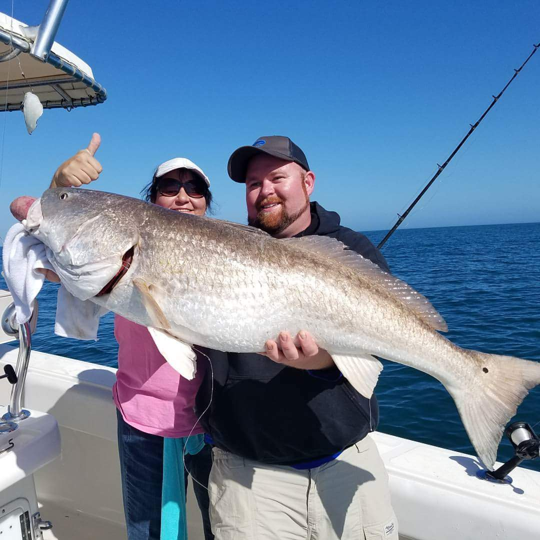 March 2017 holden beach charter fishing rigged for Long beach fishing charters
