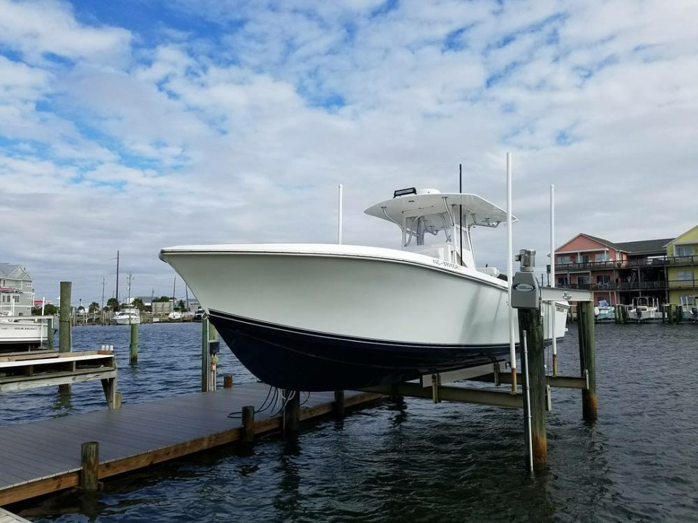 January 2018 holden beach charter fishing rigged for Holden beach fishing
