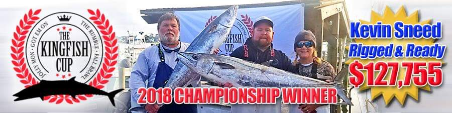 2018 Kingfish Cup Winners Holden Beach fishing charters with Rigged & Ready Charters & Capt. Kevin Seed!